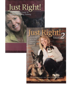 Just Right! Remote Collar Dog Training Volumes 1 and 2 - 2 DVD Set